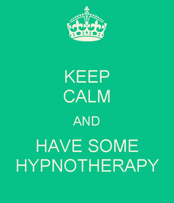 KEEP CALM AND HAVE SOME HYPNOTHERAPY