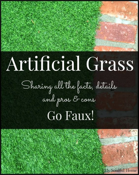 Learn all you need to know about buying, installing & caring for artificial grass. It was one of the best investments we made at our house. Go Faux!