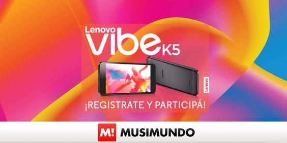 WIN A SMARTPHONE LENOVO VIBE K5! http://promociones.musimundo.com/?hashreferar=C9DF1BD4AD2CB3B31A435500475C405A&#suscriptorName