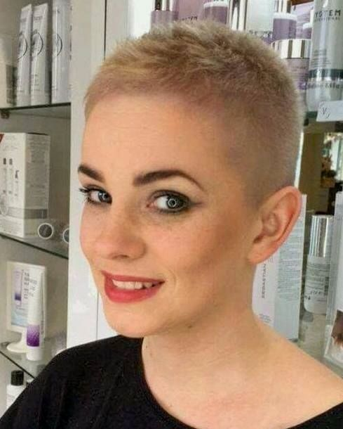 What Do You Think Of This Short Crop Really Short Hair Super Short Hair Short Hair Styles
