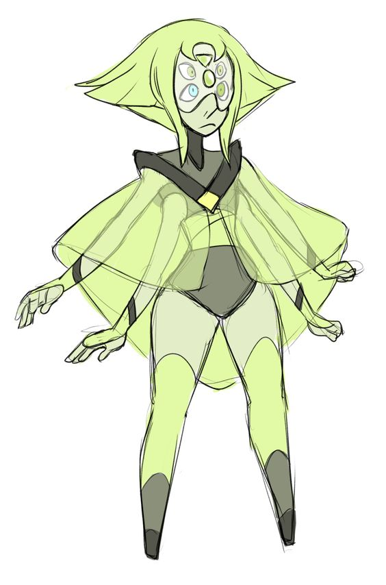 WHY DO YOU KEEP DESTROYING MY THINGS!? — crimpeekodraws: Pearl and Peridot fusion prompt,...