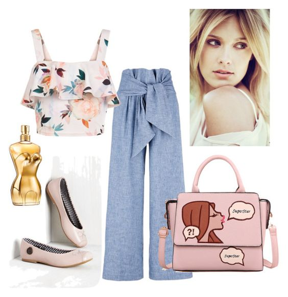 """""""Untitled #295"""" by maritabirken ❤ liked on Polyvore featuring Loly in the Sky, MSGM, New Look and Jean-Paul Gaultier"""