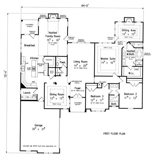 Biscayne home plans and house plans by frank betz for Betz house plans