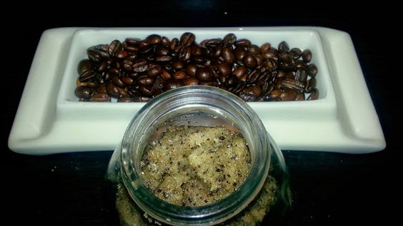 Coffee Body Sugar Scrub to help fight cellulite