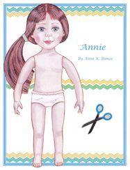 Original Paper Dolls by Anne K. Donze