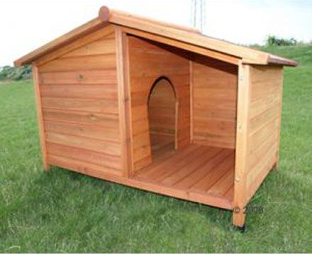 Insulated Dog House Plans For Large Dogs Free BH Pinterest