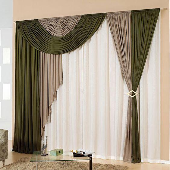 tipos de cortinas modernas e aconchegantes