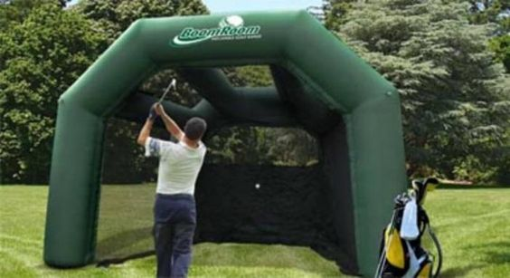 backyard driving golf backyard backyard ideas room inflatable
