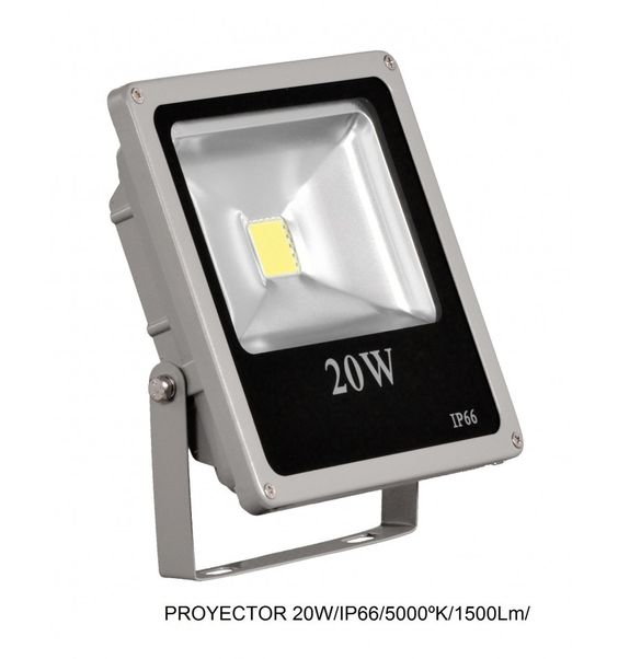 #Proyector #led 20W de luz fría. Ideal para iluminar #comercios y exteriores.