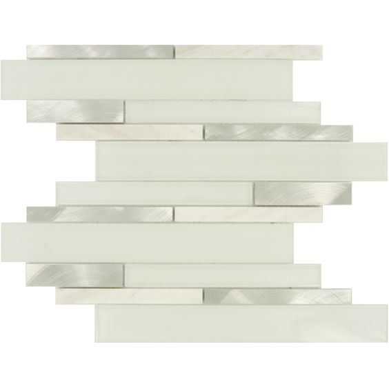 "Sheet Size: 11 3/4"" X 12"" Tile Size: Random Bricks Tiles Per Sheet"