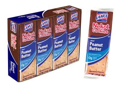 Nekot® — Crispy baked cookies with real peanut butter  #LanceBacktoSchoolChecklist