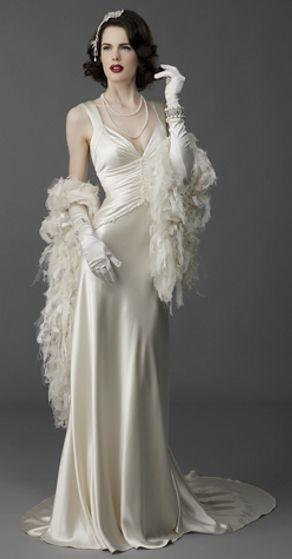 Hollywood Glamour Style Wedding Dresses : Style wedding dresses vintage weddings and