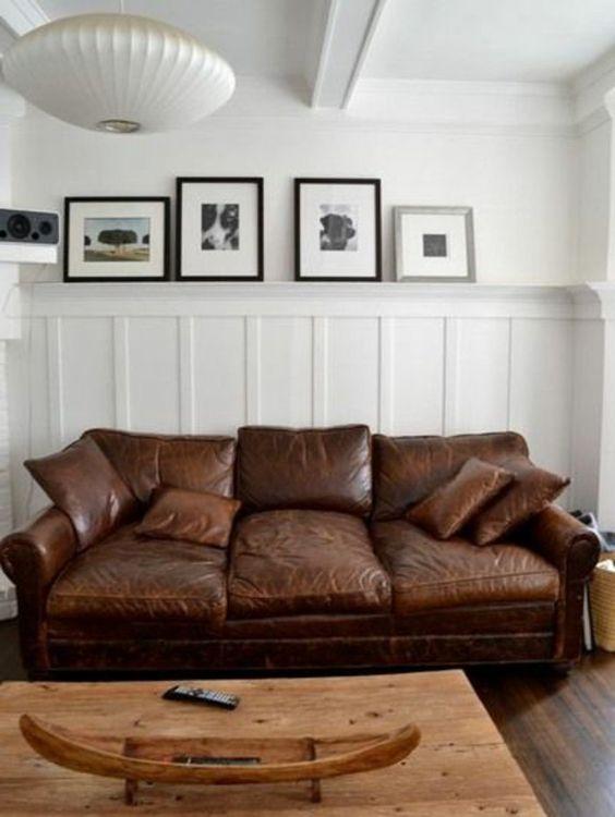 Le canapé club, quel type de canapé choisir pour le salon ...