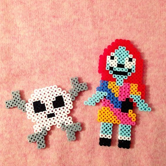 Nightmare before Christmas Sally perler beads by nun_