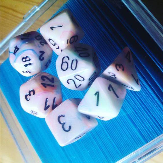 #mtg #magicthegathering #magic #dice #dnddice by musiciangirl13 http://ift.tt/1X6ZWwj