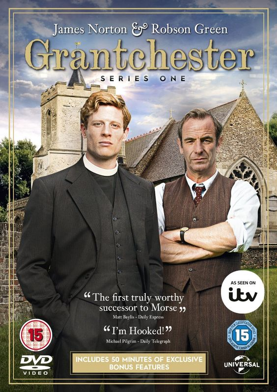 Grantchester - Series 1 Masterpiece Mystery 2015 - sexiest vicar ever