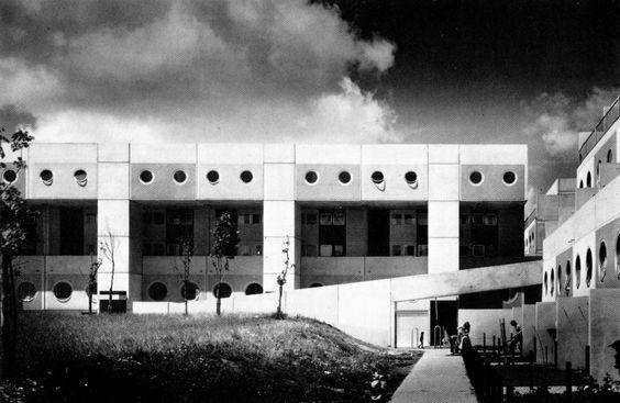 New Town Housing, Runcorn, United Kingdom, 1967-74 (James Stirling)