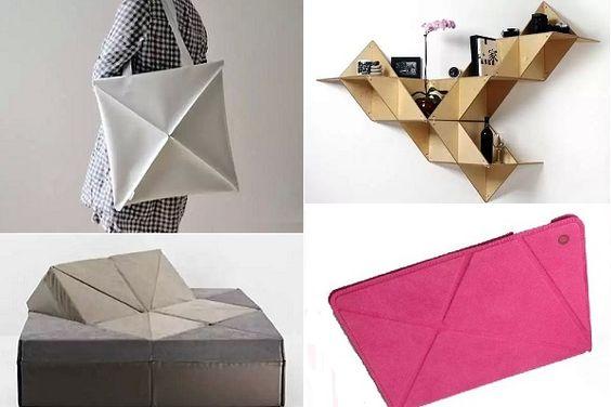 Предметы по оригами