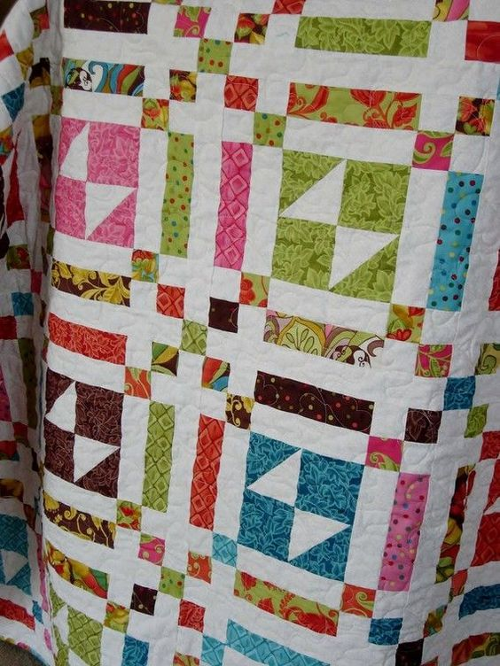 Jenny from the Missouri Star Quilt Company teaches you how to make a Double Slice Layer Cake Quilt. Description from pinterest.com. I searched for this on bing.com/images