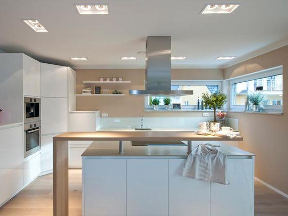 Küche mit Kochinsel Wohnen Pinterest Daily fashion, Kitchens