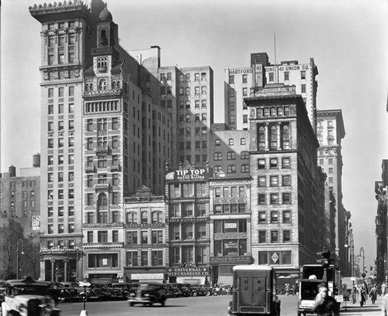 Then: Union Square (1922) | Then Vs. Now: 1920s New York City