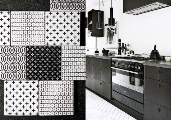 tiles, photo Line Klein