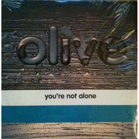 Olive – You're Not Alone (single cover art)