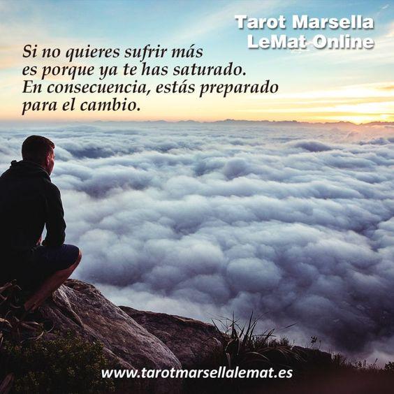 Si no quieres sufrir más, estás preparado para el cambio. ➜bit.ly/Aprende-Tarot