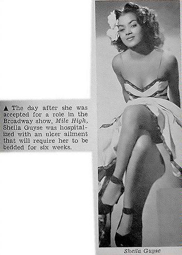 Actress Sheila Guyse Hospitalized - Jet Magazine, January … | Flickr