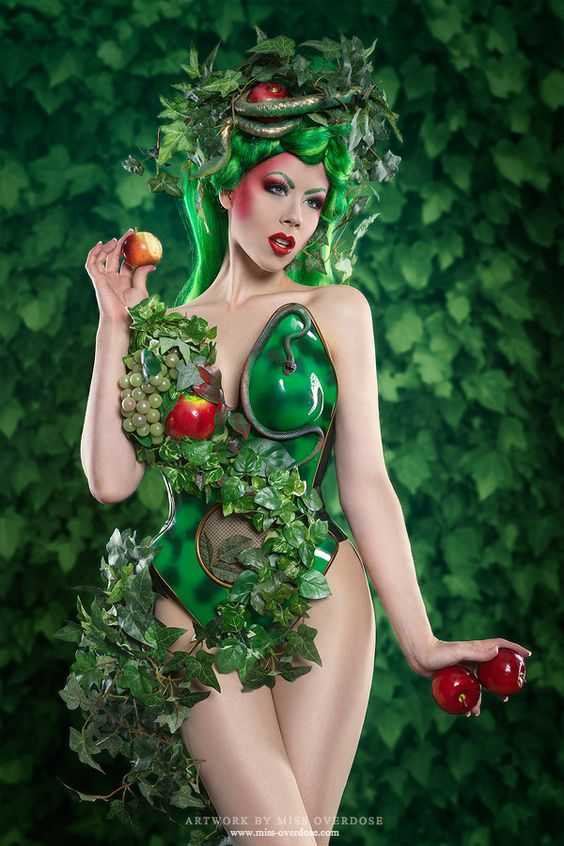 love the green and red: Halloween Costume, Costumes Collection, Fashion Costumes, Overdose Garden, Ophelia S Overdose, Ophelia Overdose