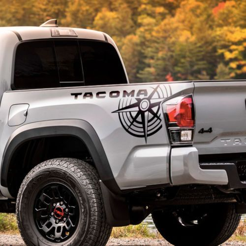 Toyota Tacoma Trd Side Bed Graphics Decal Sticker Model 6 Toyota Tacoma Toyota Tacoma Trd Tacoma Truck