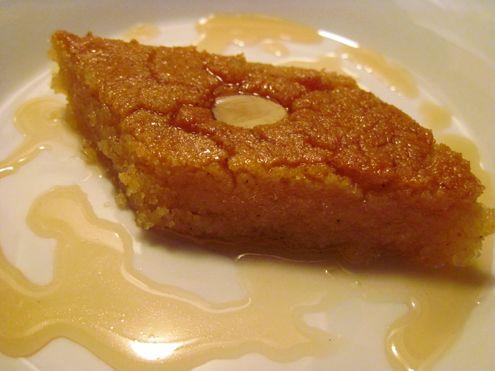 delicious basbousa is my favorite Arab dessert