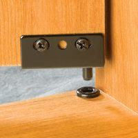 Concealed hinges black and products on pinterest for Concealed piano hinge