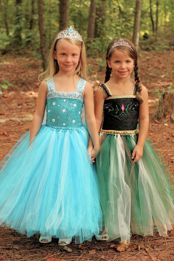 Frozen Inspired Anna Tutu Dress Frozen Tutu by LittleLocaTutus:
