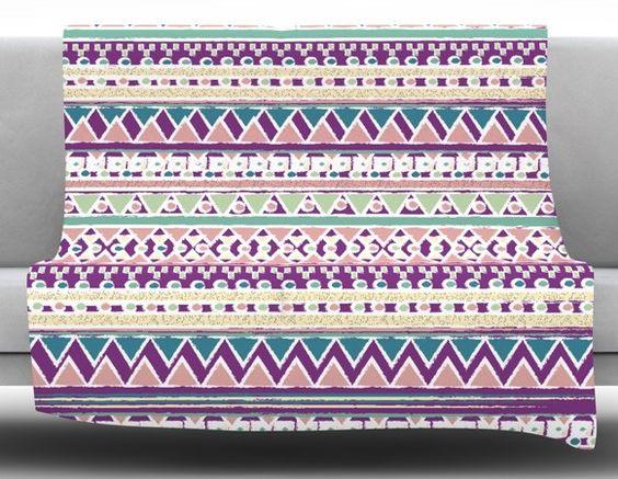 Boho Ibiza by Nika Martinez Fleece Blanket