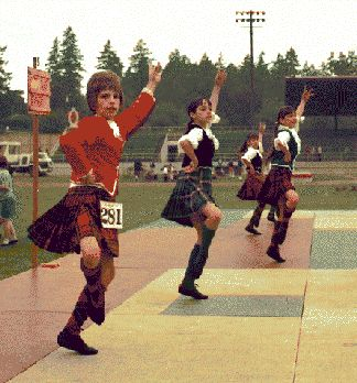 Highland Games, New Westminster BC, 1970