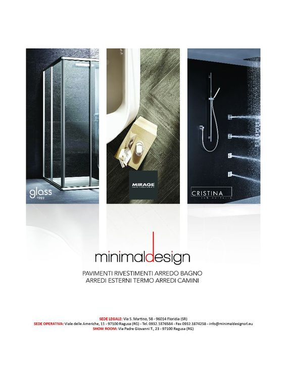 ADV Minimal Design - Magazine advertising layout pavimenti, rivestimenti, arredamento #interiordesign #advertising #magazine #layout #graphic #design #inspiration #campain #pubblicità #media #creative #ideas #photograpy  www.euromanagement.it