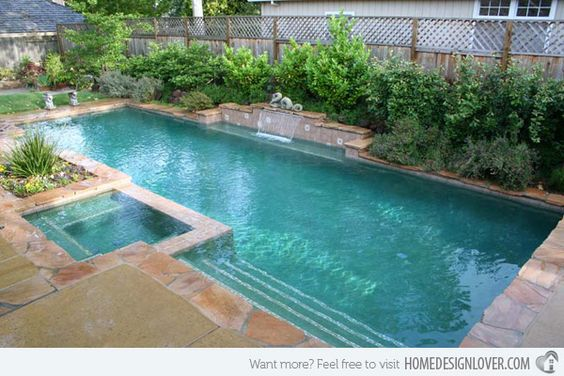 Home design different shapes and home on pinterest for Different pool designs