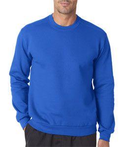 Anvil Men's Fashion Crew Neck Sweatshirt 71000 Royal