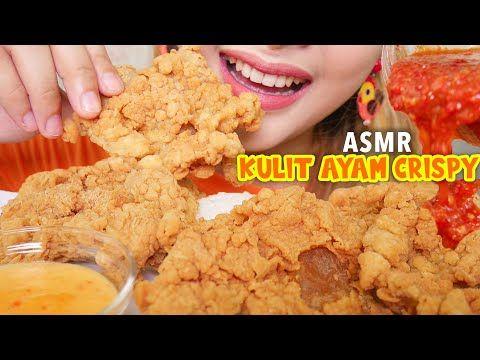 Asmr Kulit Ayam Crispy Pedas Keju Asmr Indonesia Youtube Keju Makanan Saus
