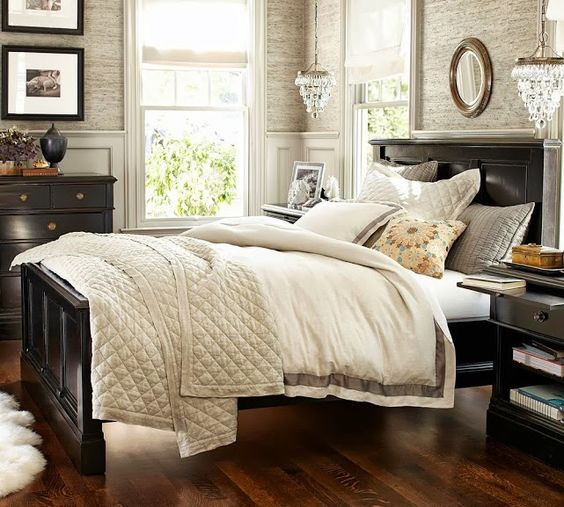 pottery barn bedrooms pottery ideas pottery and black furniture on 12930