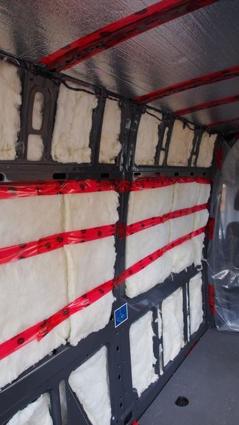 How to insulate a camper van