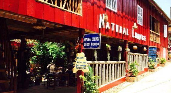 Vẻ ngoài nổi bật của Natural Lounge Guest House