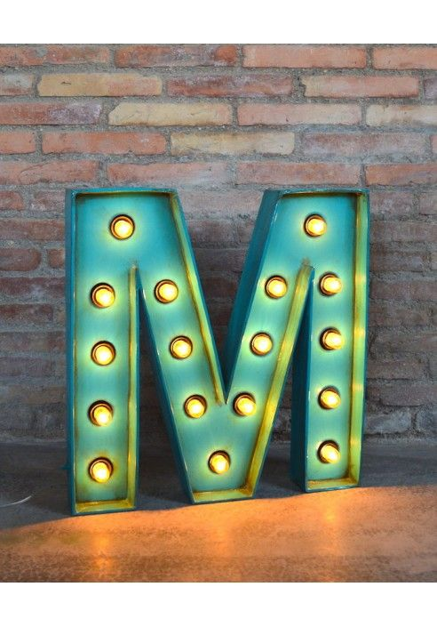 Letras luz by la factor a pl stica r tulos luminosos - La factoria plastica ...