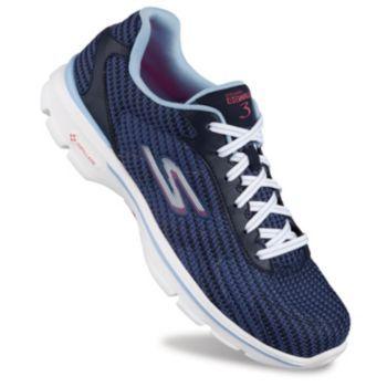 Skechers GOwalk 3 FitKnit Women's Walking Shoes, Size: 5, Grey ...