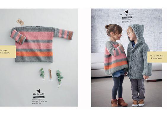 Catalogue N° 136 : Apprenez le tricot ! - Layette - Phildar