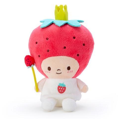 New Sanrio Japan Strawberry King Top Plush Doll Daiski!