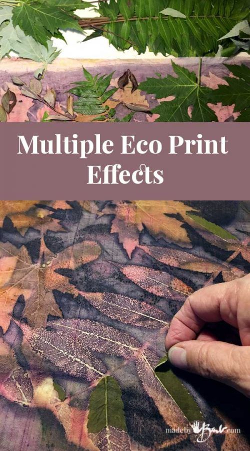 Multiple Eco Print Effects Made By Barb Duplicate Magical Leaf Printing Eco Printing Textiles Eco Dyeing Fabric Eco Printing