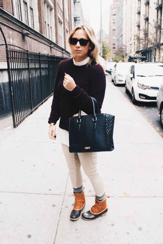 Fall to Winter with #LLBean in NYC with blogger Jessi Green of Modern Wonderland.: