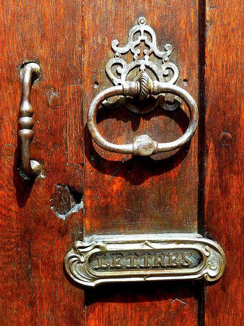 Old Normandy Front door